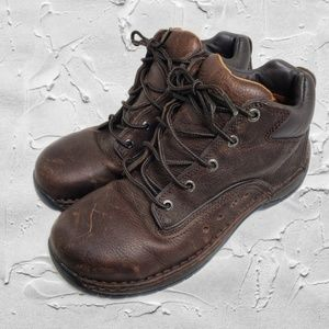 SOLD Red Wing Shoes Brown Steel Toe Lace Up Sz 8